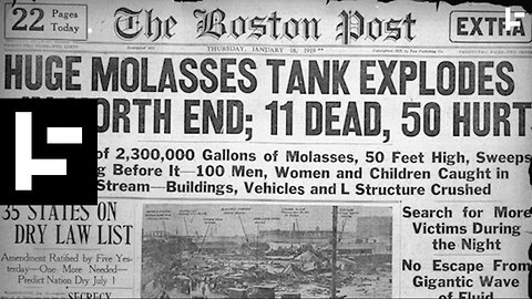 When Molasses Wiped Out a Boston Neighbourhood