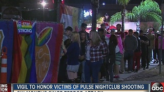 Vigil to honor victims of Pulse nightclub shooting - Video