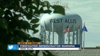 Phony firefighter breaks into West Allis Home - Video