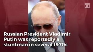 Putin Was a Stunt Double in 1970s - Video