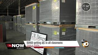 SUHSD getting air conditioning in all classrooms - Video