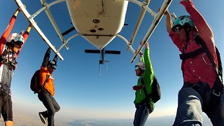 The World's Most Exciting Job: GoPro Bomb Squad Skydiving - Video
