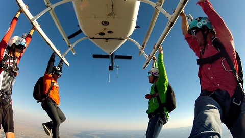 The World's Most Exciting Job: GoPro Bomb Squad Skydiving