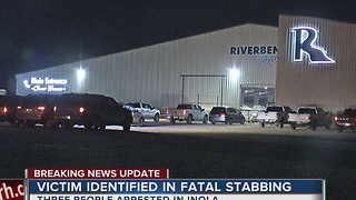 Three people arrested and victim identified from overnight Inola stabbing - Video
