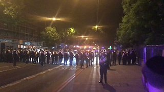 Riot Police Deployed in North London Estate Following Reports of Clashes - Video