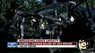 Elderly couple killed by DUI driver - Video