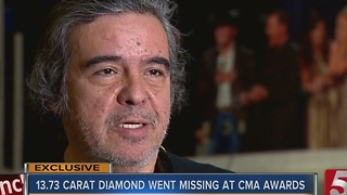 Diamond Lost By Beyonc� At CMA Awards Returned - Video
