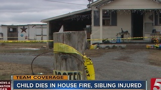 5-Year-Old Girl Killed In Tullahoma House Fire - Video