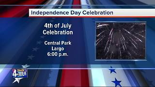 Fourth of July Celebration in Largo - Video