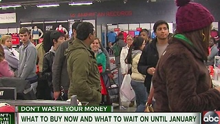 What to buy now and what to wait on until January - Video