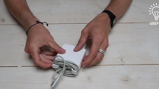 You've been wrapping your MacBook charger wrong this whole time - Video