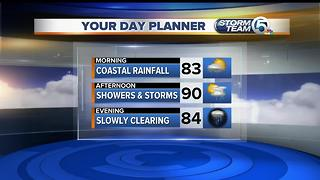 Updated Wednesday morning forecast - Video