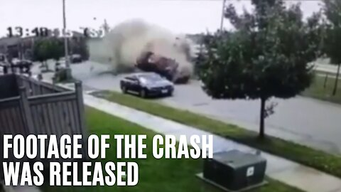 A Brampton Street Looked Like A Disaster Movie After A Canada Day Crash