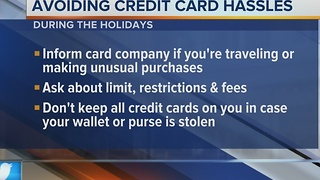 Call 4 Action: Avoiding Credit Card Hassles - Video