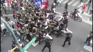 Ecuador Military Clash with Police Over Covid-19 Restrictions