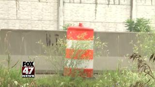 US-127 sound wall still not complete - Video