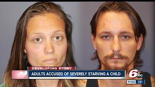 Two people charged with starving, confining 5-year-old Tipton boy as punishment - Video