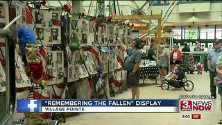 Remembering the fallen display - Video