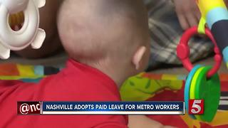 Nashville Adopts Paid Family Leave For City Workers - Video