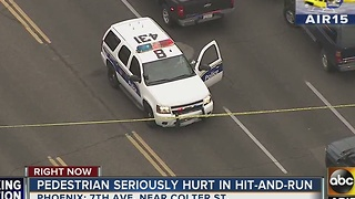 Phoenix PD: Pedestrian killed in hit-and-run - Video