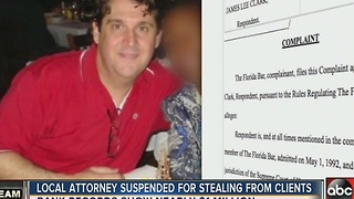 Tampa lawyer accused of bilking nearly $1 Million from clients' trust accounts - Video
