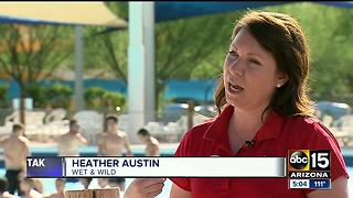 Water park taking precautions to keep customers safe - Video