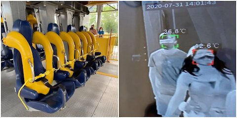Here's What Going To LaRonde Is Like During COVID (VIDEO)