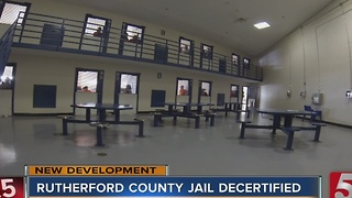 Board Votes To Decertify Rutherford County Jail - Video