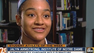 Student Athlete of the Week: Ja'Lyn Armstrong - Video