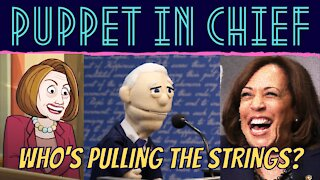 JOE BIDEN IS A PUPPET AND WE NEED TO KNOW WHO'S PULLING THE STRINGS