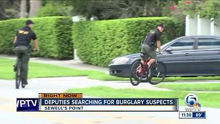 Burglars sought in Sewell's Point - Video
