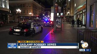Series of robberies in the Gaslamp - Video