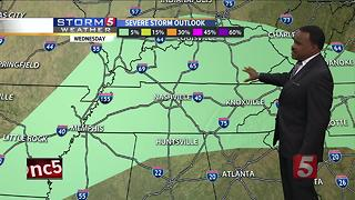 Lelan's Morning Forecast: Wednesday, July 5, 2017 - Video