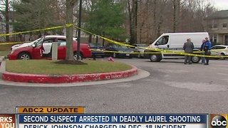 Second suspect charged in Laurel double shooting - Video