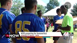 KCPS preparing for Summerfest 2017 - Video