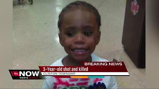 Three-year-old shot and killed in Clinton Township