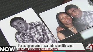 Focusing on crime as a public health issue - Video
