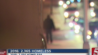 Homeless Population Increases In Nashville - Video