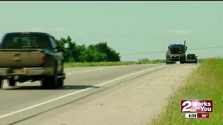 Manhunt underway near Chouteau - Video
