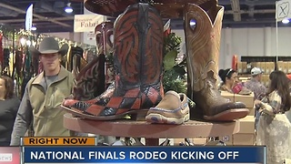 National Finals Rodeo kicks off in Las Vegas - Video