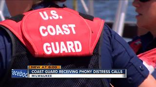 Coast Guard deals with high rate of hoax distress calls - Video