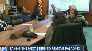 Taking the next steps to remove Paladino - Video