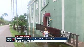 Rain and flooding taking a toll on historic Everglades City building - Video