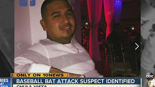 Baseball bat attack suspect identified - Video