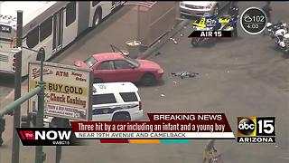 7-month-old baby injured in Phoenix crash - Video