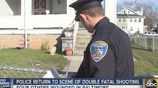 Police continue to investigate deadly double shooting on Garrison Boulevard - Video