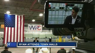 Speaker Ryan visits WI manufacturing plants - Video