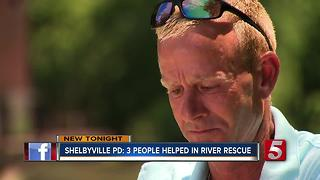 Man Who Allegedly Saved Boy From River Had Help - Video
