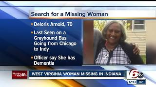 Missing West Virginia woman could be in Indianapolis - Video