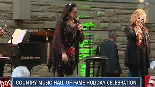 Christmas Begins At Country Music Hall Of Fame - Video